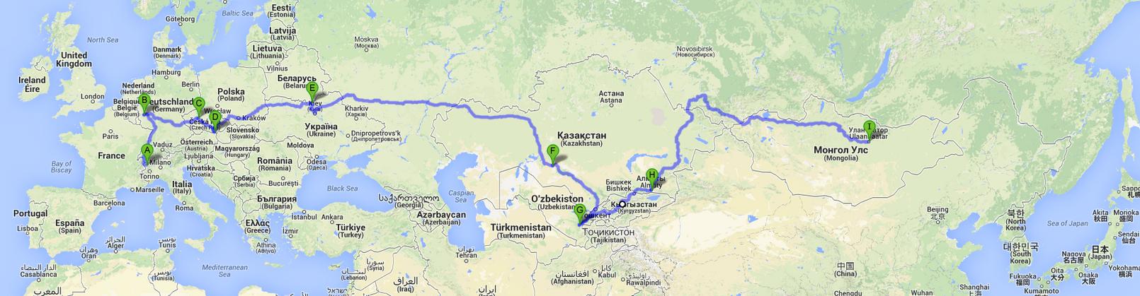 Mappa provvisoria