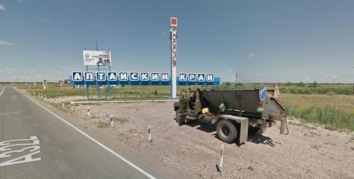 Appena entrato in Russia. Fonto Google Maps.